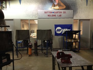 Welding lab and classroom